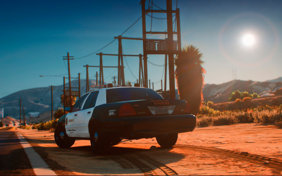 Morning in Sandy Shores