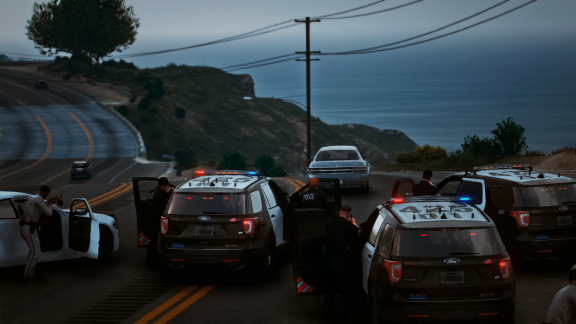 Officers conduct on CODE 5