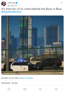 Official account of the LSPD